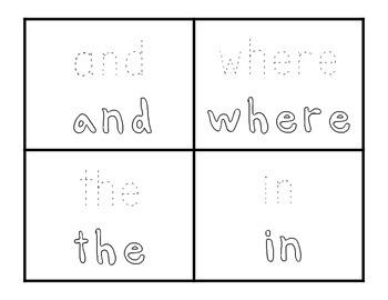 Dolch Pre-Primer, Primer, & First Grade Sight Word Booklet BUNDLE