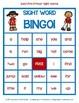 Dolch Pre-Primer Sight Word Bingo