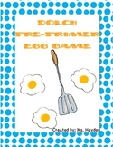 Dolch Pre-Primer: Sight Word Egg Game