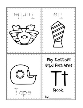 My Letters and Pictures Book (letters mini book A-Z)