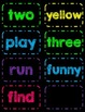 Dolch Pre-Primer Sight Word Flash Cards/Word Wall Cards