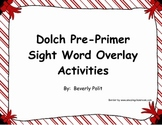 Dolch Pre-Primer Sight Word Overlay
