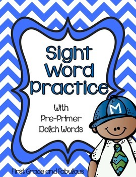 Dolch Pre-Primer Sight Word Stories