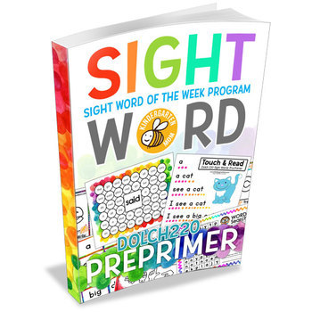 Sight Word Worksheets: Sight Word of the Week Dolch 220 Pre-Primer