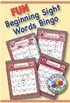 Dolch Primer Sight Words Bingo BUNDLE: Digital & Print - EASY Phonics Games