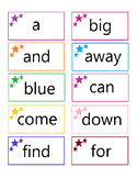 Dolch Pre Primer Sight Words Flash Cards and Tracing