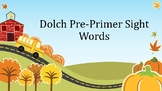 Dolch Pre-Primer Sight Words Presentation