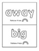 Dolch Pre-Primer Sight Words Tracing Writing 3 Fine Motor Centers Differentiated