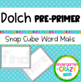 Dolch Pre-Primer Snap Cube Word Mats