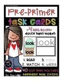 Dolch Pre-Primer Task Cards [Task Box]