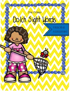 Dolch Sight Word Wall Cards (Bug/Insect Theme)
