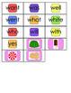 Dolch Pre-Primer to 2nd Grade Candyland Game Bundle
