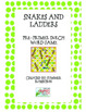 Dolch Pre-Primer to 2nd Grade Snakes and Ladders Word Game