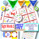 """Dolch Pre-primer Sight Words Matching Game SHOUT OUT Set 1; 31, 3"""" & 5"""" cards"""