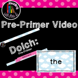 Dolch Pre-primer for Choral Repeat