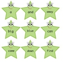 Dolch Pre-primer sight word match