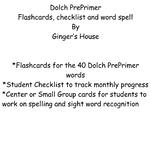 Dolch PrePrimer Flashcards