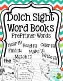 Dolch PrePrimer Word Books