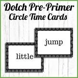 Dolch Pre-primer Large Cards