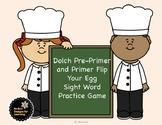 Dolch Preprimer and Primer Flip Your Egg Sight Word Game