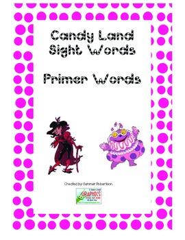 Dolch Primer Candyland Game