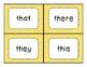 Dolch Primer Flashcards