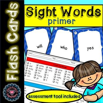 Sight Word Flashcards: Primer