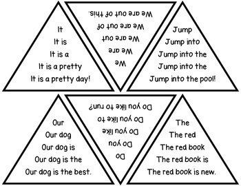 Kindergarten Sight Word Fluency: RF.K.4