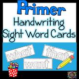 Sight Words Handwriting