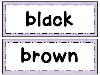 Dolch Primer High Frequency Words & Phrases