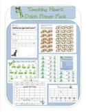 Dolch Primer Kindergarten - First Sight Word Packet Dino Themed