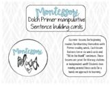 Dolch Primer Manipulative Cards Sentence Match