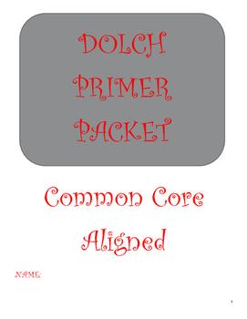 Dolch Primer Packet