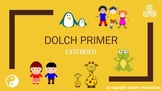 Dolch Primer PowerPoint -EXTENDED- inc. Definitions, Sente