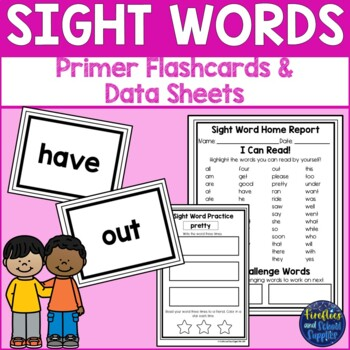 Dolch Primer Printable Sight Word Cards