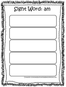 Dolch Primer Rainbow Roll and Write Sight Word Worksheets.  Prints 53 pages.