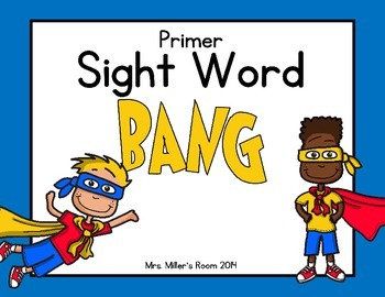 Dolch Primer Sight Word Game - BANG!