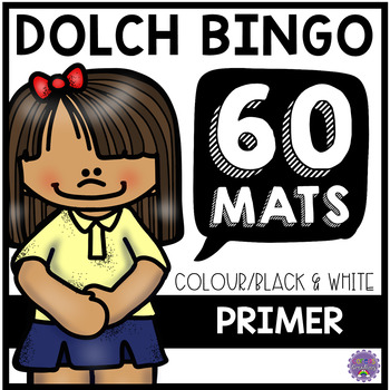 Dolch Sight Word BINGO: Primer