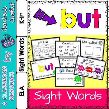 Dolch Sight Word Booklet BUT