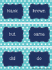 Dolch Primer Sight Word Cards