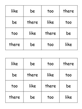 Dolch Primer Sight Word Daily Fluency Cards {FREEBIE}