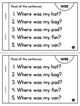 Dolch Primer Sight Word Digital & Printable Readers