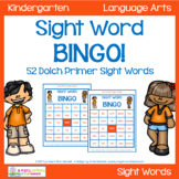 Dolch Primer Sight Word Game - Bingo!