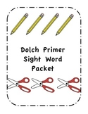 Dolch Primer Sight Word Pack