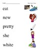#2. Dolch Primer Sight Word Picture Match
