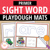 Primer Sight Word Play Dough Activity Mats:Build, Read, Tr