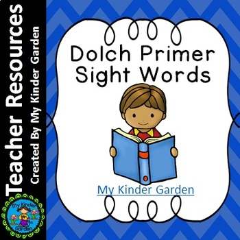 Dolch Primer High Frequency Words Sight Word PowerPoint