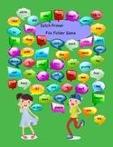 Dolch Primer Sight Words File Folder Game