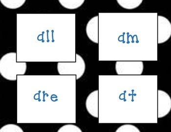 Dolch Primer Sight Words Flash Cards
