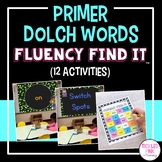 Dolch Primer Sight Words Fluency Find It®